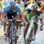 Daniele Bennati,  Erik Zabel,  Danilo Hondo , Thomas Fothen,  Alberto Loddo,  91. Giro d\' Italia 2008,  3. Etappe, Catania - Milazzo (221 km), Foto: Sabine Jacob