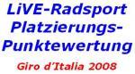Paolo Bettini führt die Platzierungspunktewertung an, Juan Manuel Garate in der Sonderwertung vorn