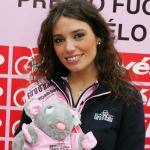 Startnummer 3 Gironella Sara, 91. Giro d'Italia, Wahl Miss Gironissima 2008 von www.LiVE-Radsport.ch. Foto: Sabine Jacob