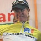 Susanne Ljungskog, Tour de l\'Aude 2008, Foto: .tour-aude- cycliste-feminin.fr