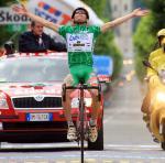 Kletterkönig Emanuele Sella gewinnt seine dritte Bergetappe beim Giro