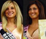 Gironella Stefania, Startnummer 26 (links), Gironella Santina, Startnummer 27, Wahl Miss Gironissima 2008 von LiVE-Radsport.ch