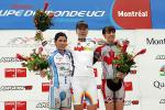 Podium: Luperini, Arndt, Hobson, Weltcup in Montréal, Foto: world-cup-cycling.org