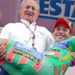 Enstände aller Wertungen, Bruno Reverberi, Emanuele Sella, 91. Giro d\'Italia, Foto: Sabine Jacob