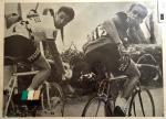 Giro-Sieger Gianni Motta und die Berliner Mauer, Foto mit Eddy Merckx