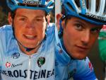 """Doppeltes Comeback in Triberg und bei Dauphiné: Tim Klinger (re) und Tom Stamsnjider froh, """"endlich wieder Rennen zu fahren"""", Fotos: Team Gerolsteiner"""