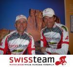 Johannes Kornacher und Rainer Kiworra (Foto: Swissteam RAAM)