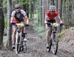 Der Sieger Alexander Moos (li.) und der Zweite Lukas Buchli (re.) (Fotos: www.velomedia.ch)