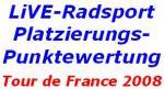 Die Platzierungspunktewertung: Wo Kim Kirchen deutlich die Tour de France anführt!