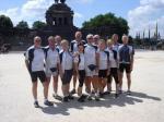 Gruppenfoto am Deutschen Eck in Koblenz