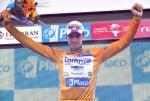 Nach seinem Überraschungssieg in Andorra übernimmt Alessandro Ballan das Goldtrikot als neuer Führender der Vuelta (Foto: www.lauvelta.com)
