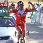 David Moncoutié bejubelt seinen ersten Sieg seit über drei Jahren auf der 8. Etappe der Vuelta (Foto: www.lavuelta.com)