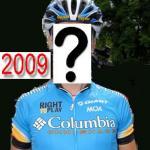 Wer trägt das Columbia-Trikot 2009?