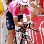 Serhiy Honchar beim Zeitfahrsieg (Foto: t-mobile-team.com)