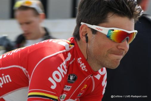Tony Gallopin am Start in Nizza