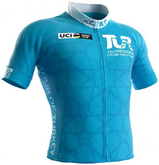 Reglement Presidential Cycling Tour of Turkey 2017 - Türkises Trikot (Gesamtwertung)