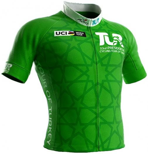 Reglement Presidential Cycling Tour of Turkey 2017 - Grünes Trikot (Punktewertung)