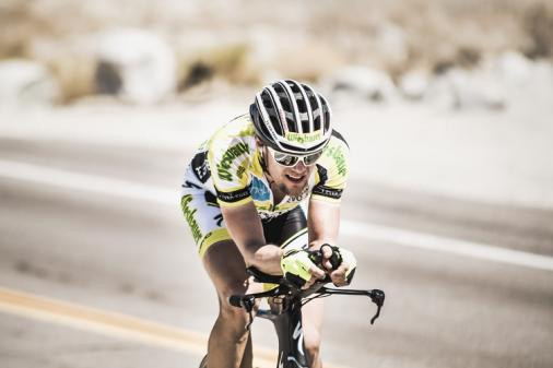 Christoph Strasser beim Training in der Mojave-Wüste (Foto: Hausdorfer | lime-art.at)