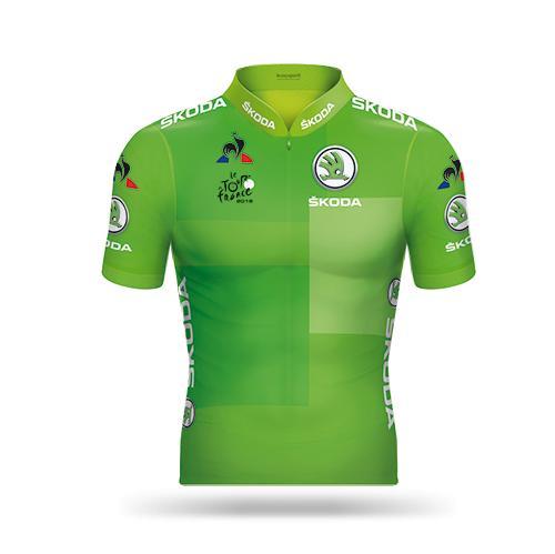 Grünes Trikot Tour De France