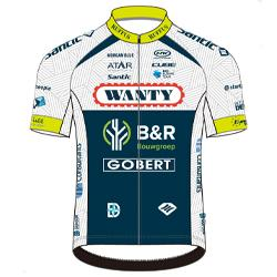 Trikot Wanty - Gobert Cycling Team (WGG) 2019 (Quelle: UCI)