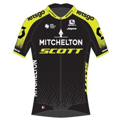 Trikot Mitchelton - Scott (MTS) 2020 (Quelle: UCI)