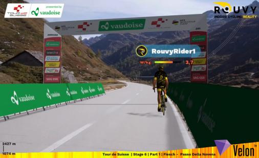 Weltpremiere: The Digital Swiss 5 - Digitales Pro-Cycling-Rennen der Tour de Suisse
